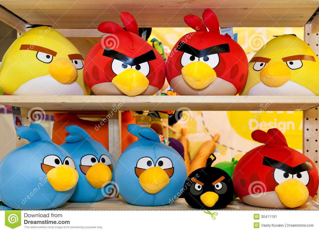 Angry Birds Toys : Angry birds toys editorial photo image