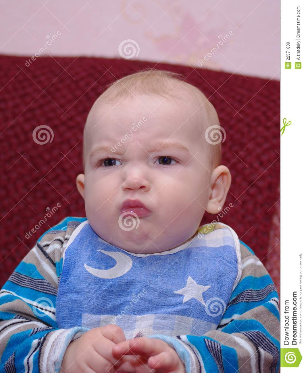 Angry Boy Royalty Free Stock Images - Image: 22871839