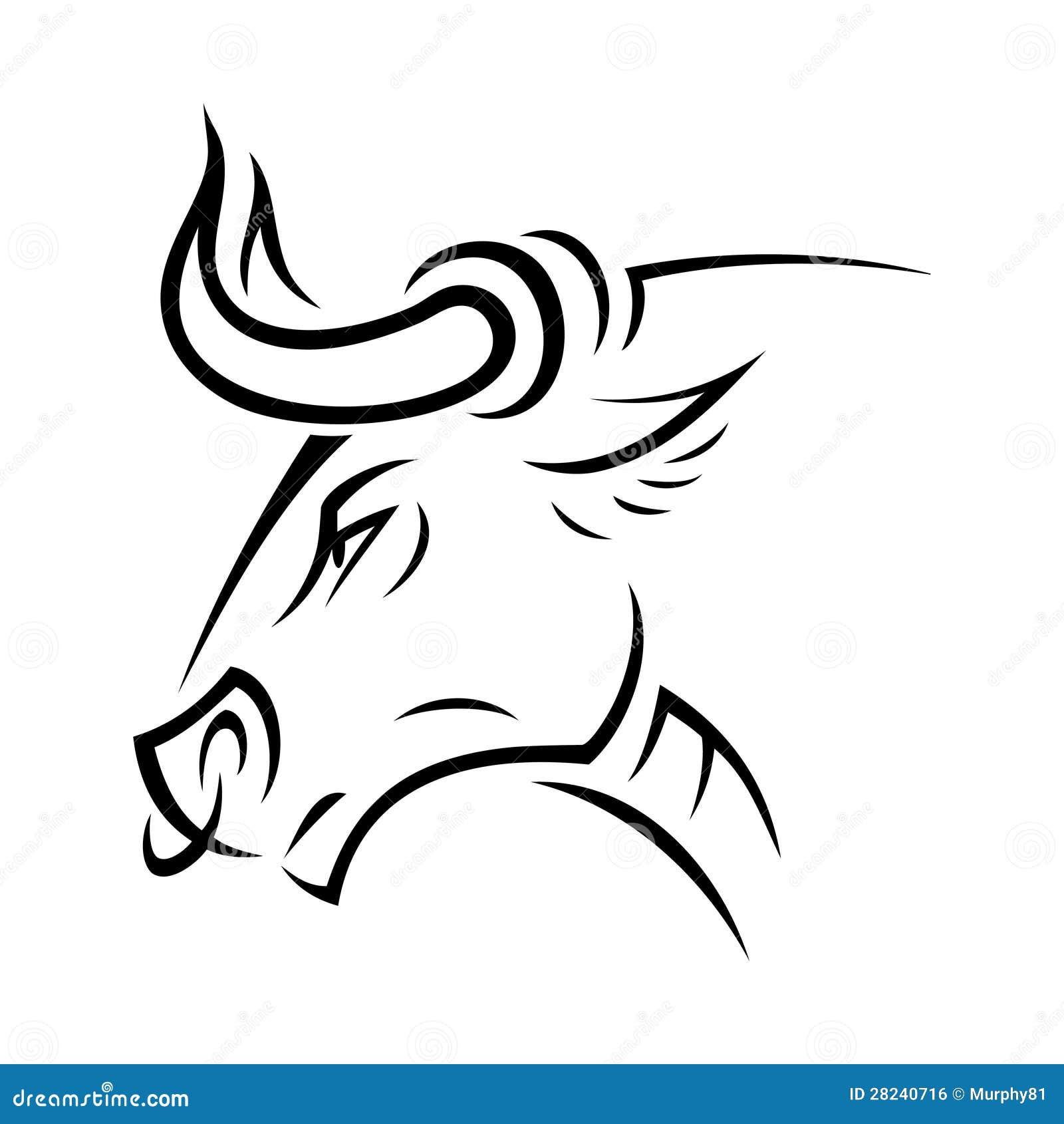 Angry bull royalty free stock image image 28240716