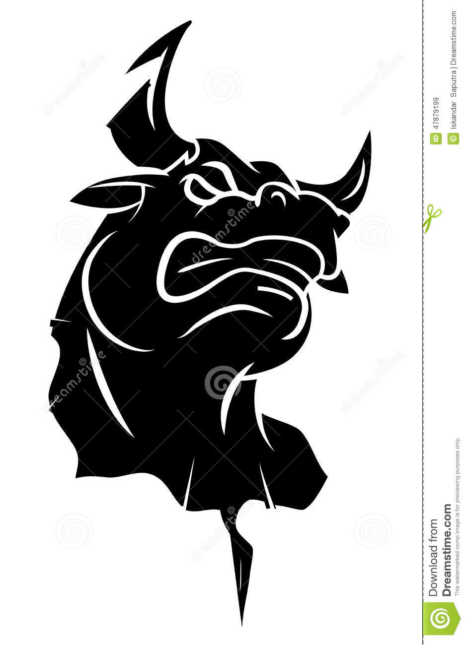 angry bull head logo - photo #28