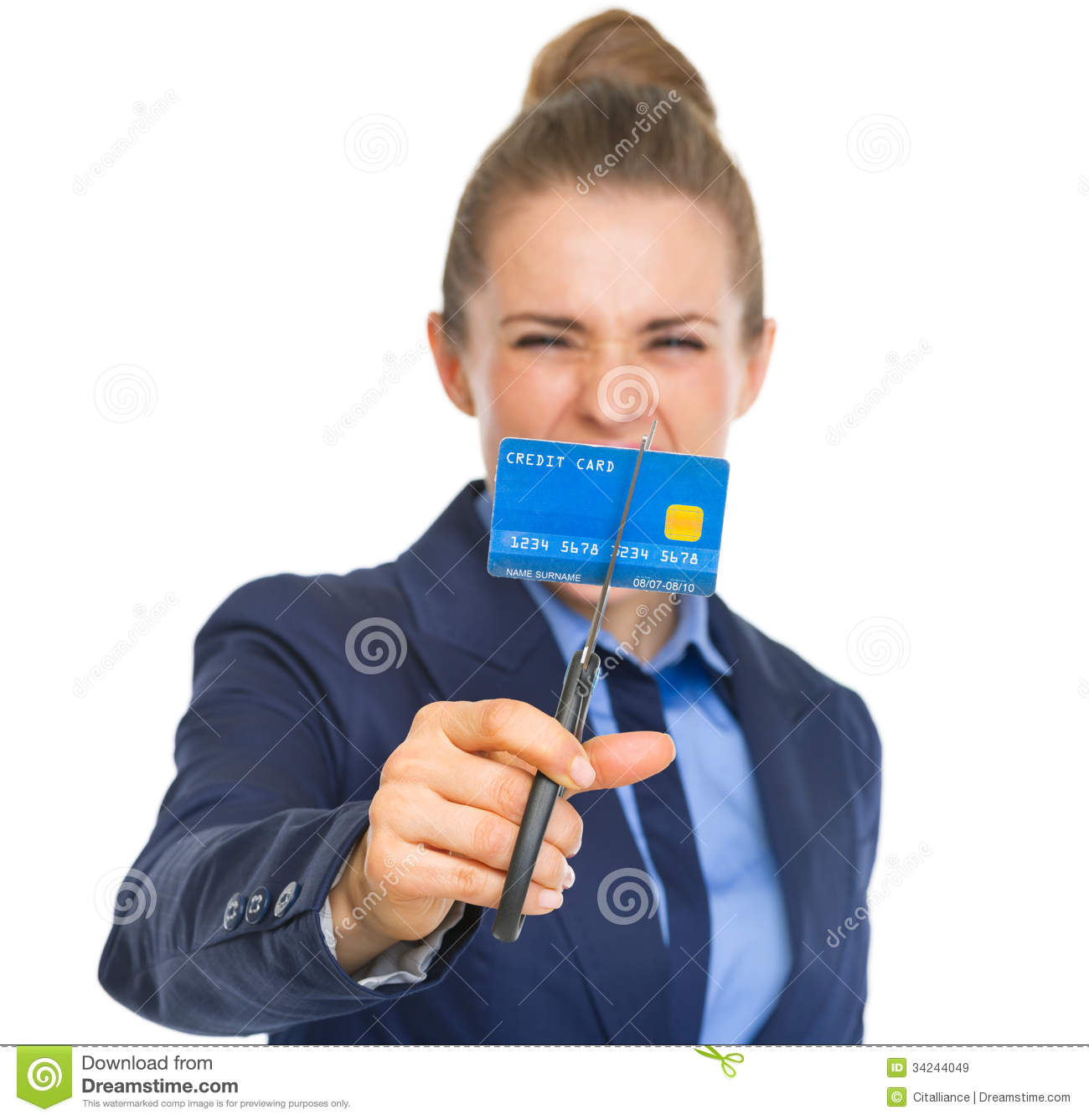 business card angry - photo #15