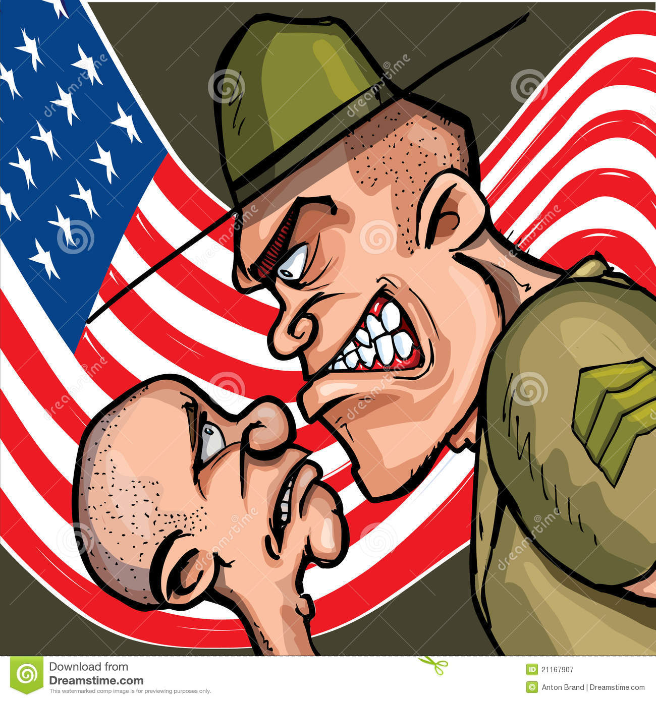 999x555 151kb Jpeg: The Gallery For --> Drill Sergeant Yelling Clip Art