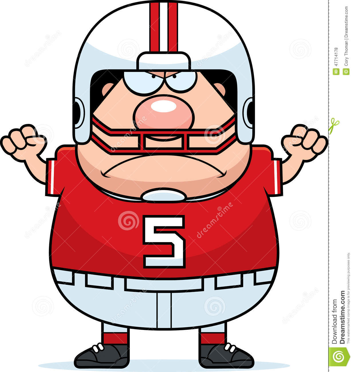 angry cartoon football royalty free stock photos