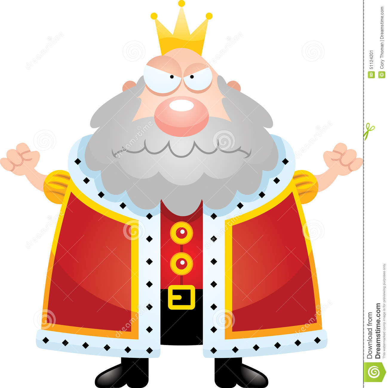 angry cartoon king stock vector image of frown  graphic king crown vector image King Crown Clip Art