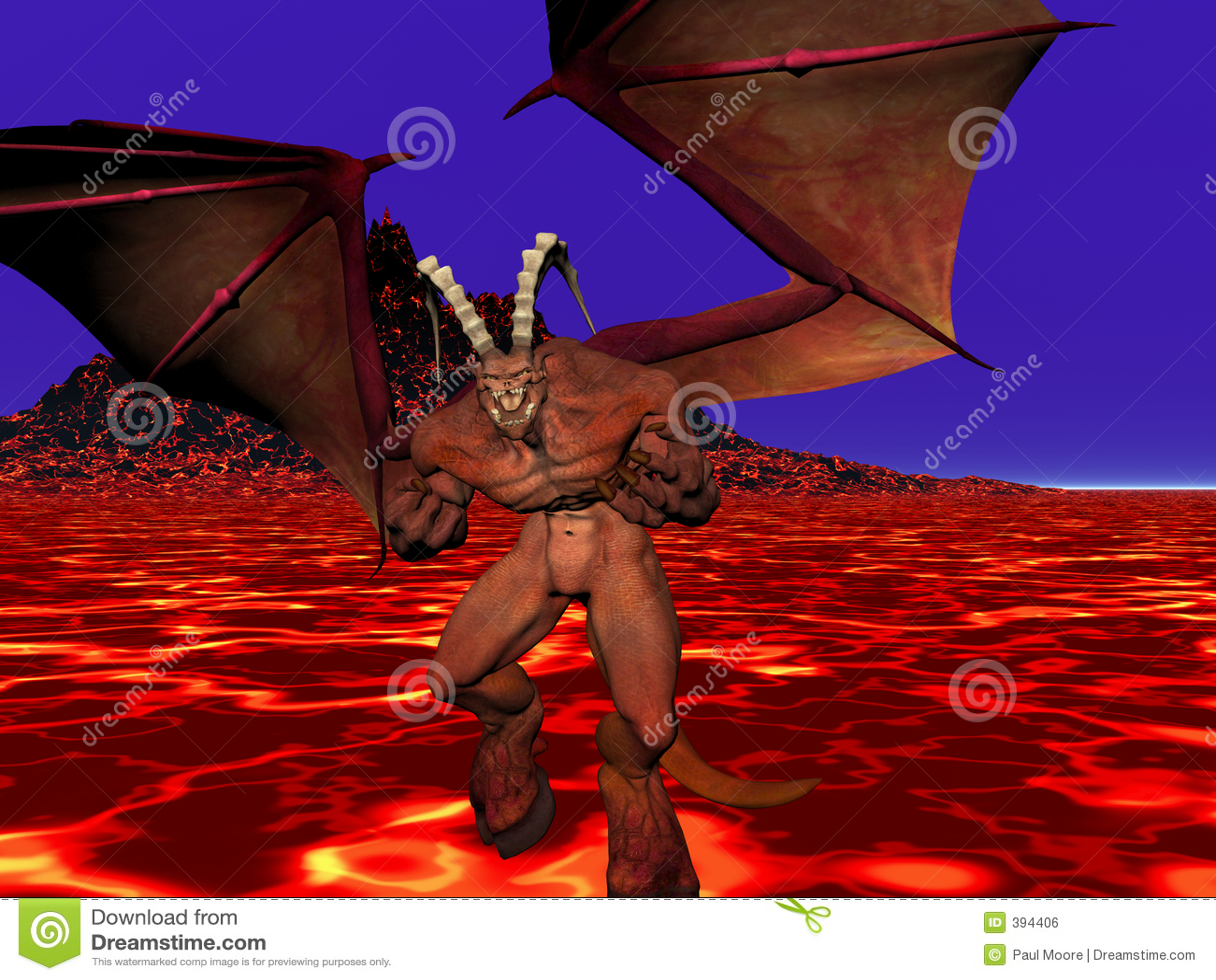 Demon porncraft nude image