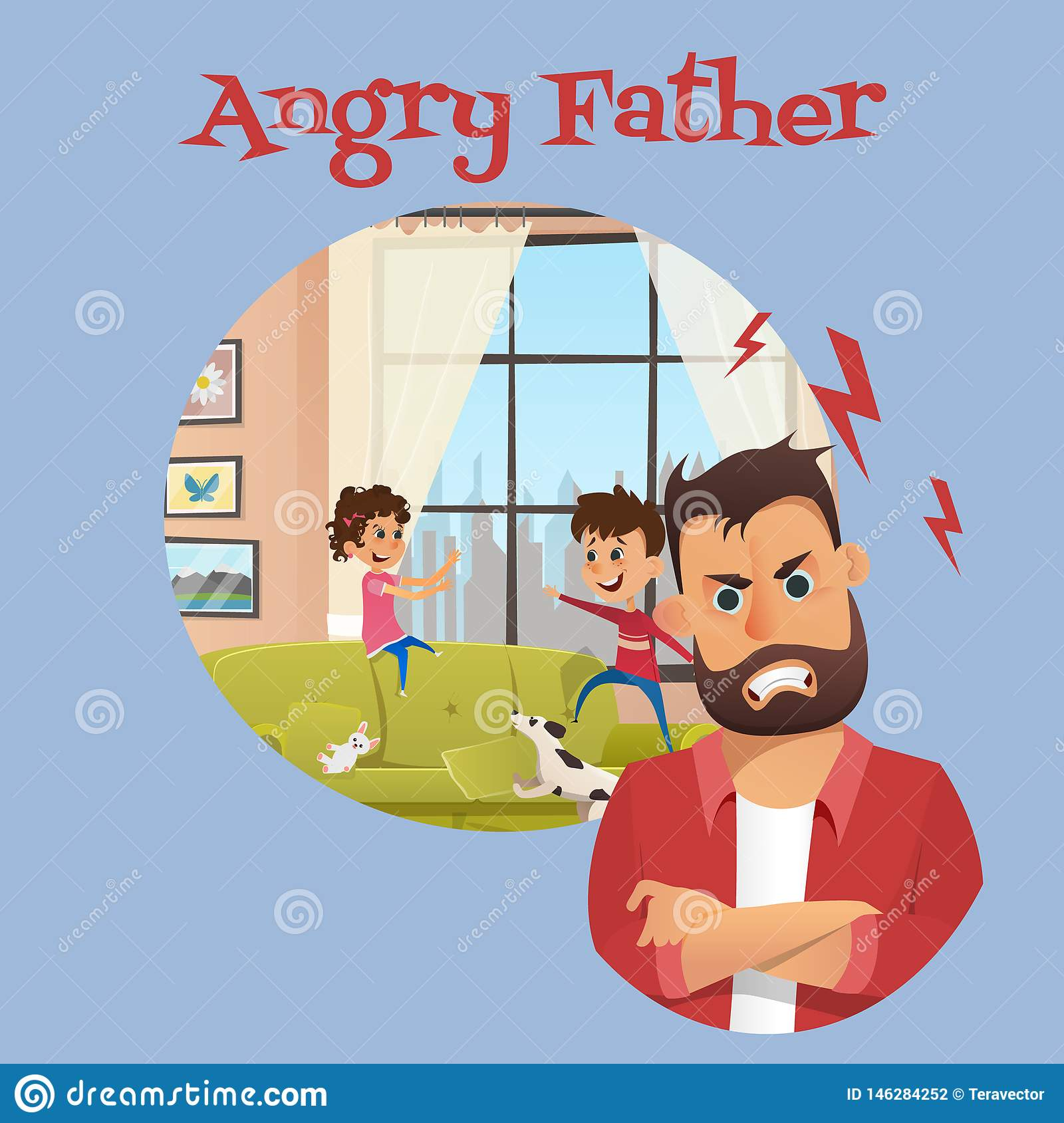 Angry Dad Broken Dishes.Angry Father Stock Illustrations 1 170 Angry Father Stock Illustrations Vectors Clipart Dreamstime