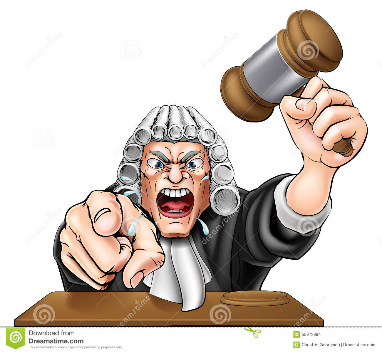 angry judge stock vector image of mean  person  gavel gavel clip art free gavel clip art free