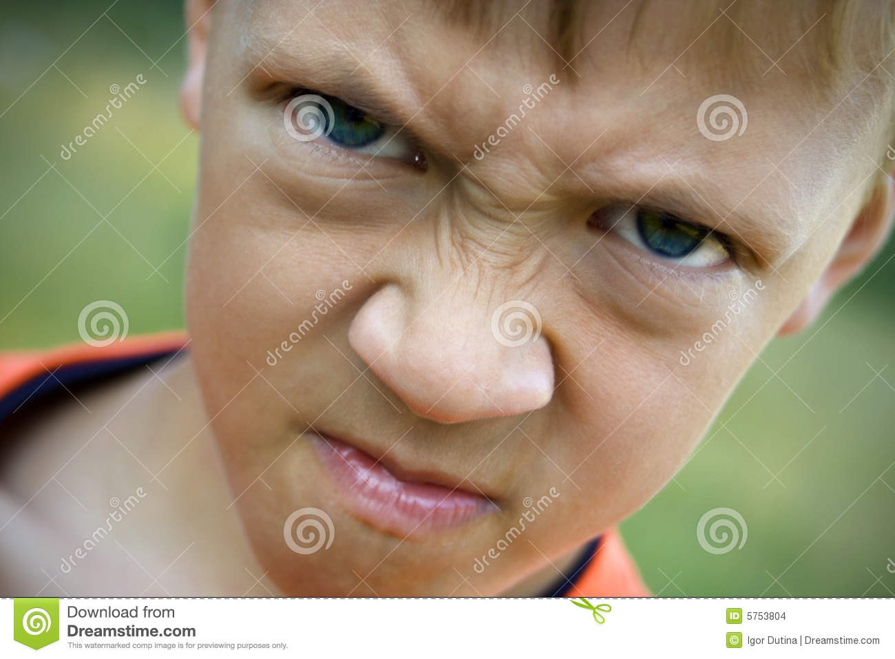 Angry Kid Stock Images - Image: 5753804