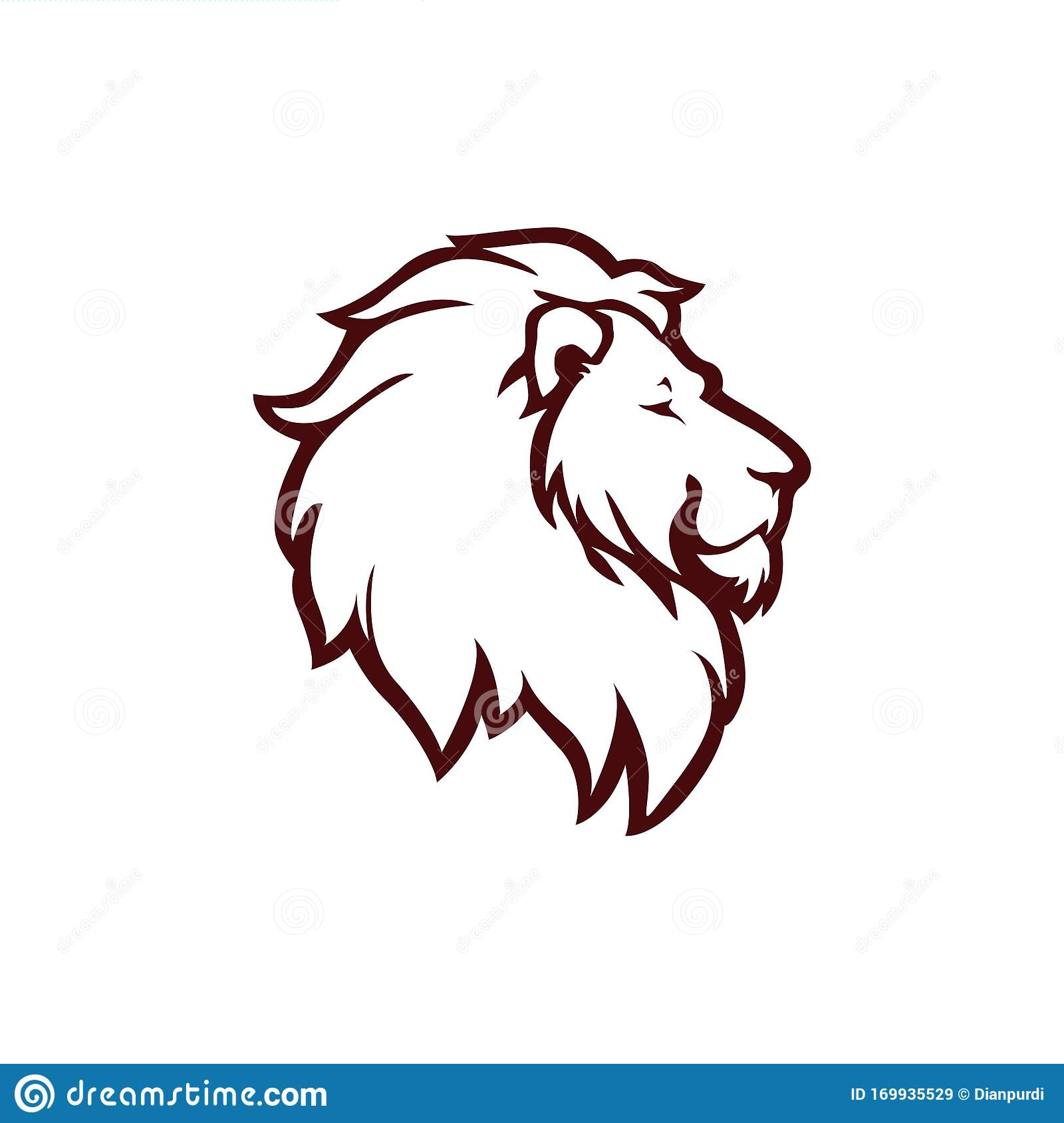 Angry Lion Head Logo Icon Sign Outline Flat Design Vector Illustration Stock Vector Illustration Of Animal Graphic 169935529 With its powerful and strong personality, the lion is known to be the king of the jungle. https www dreamstime com angry lion head logo icon sign outline flat design vector illustration template image169935529