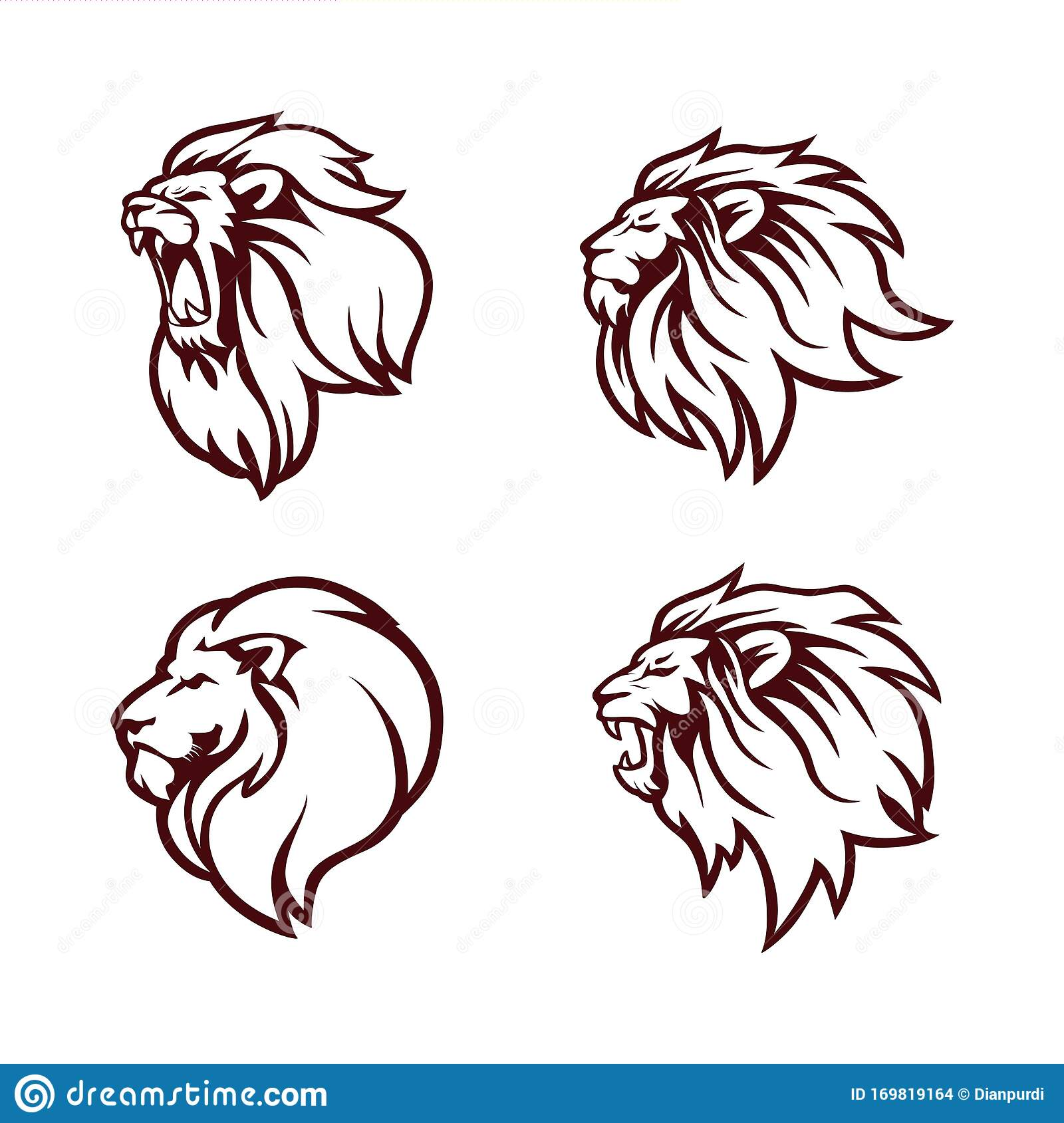 Lion Head Simple Lion Outline : There are 35 lion head outline for sale on etsy, and they cost .96 on.