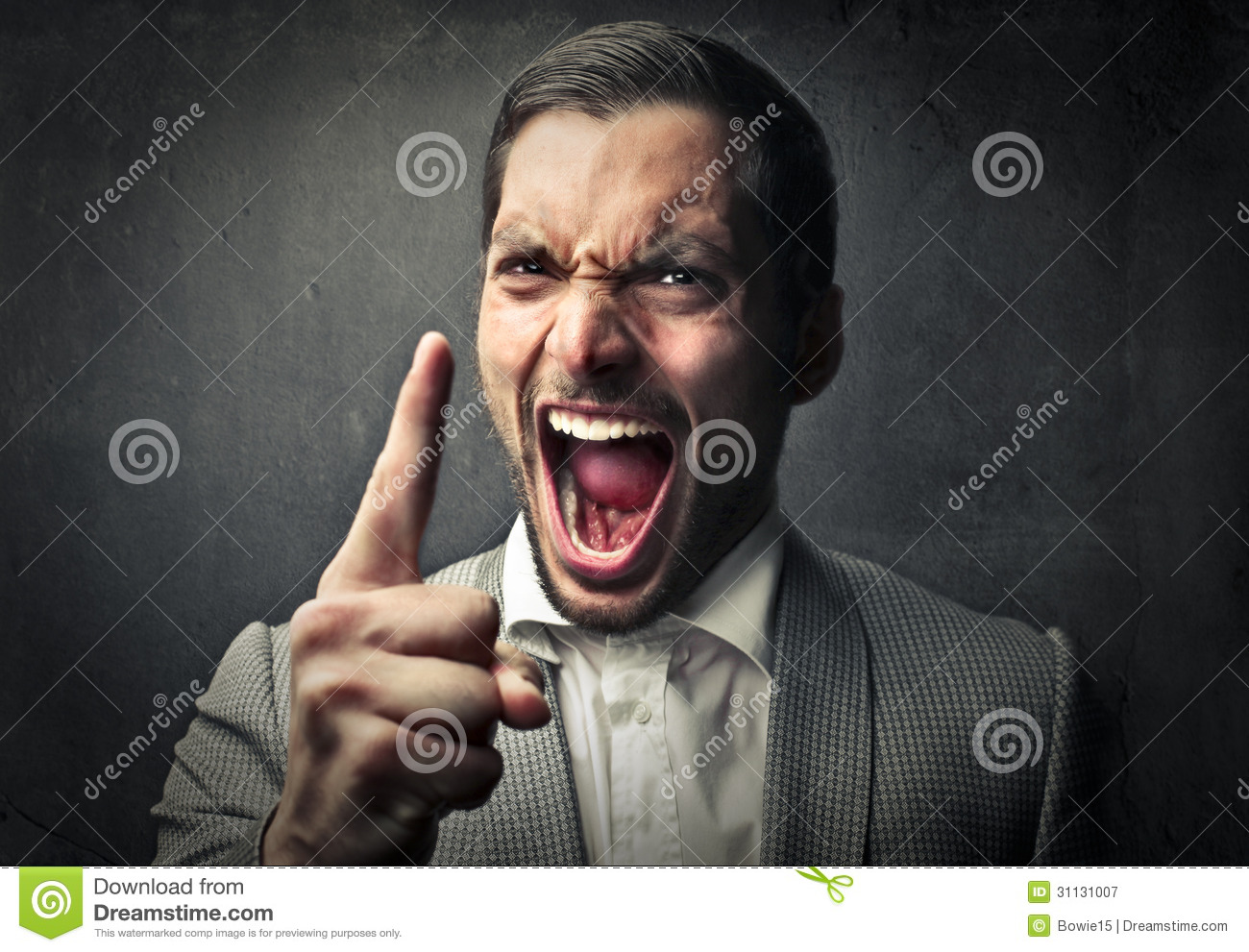 Angry man stock image. Image of expression, dark, fury ...