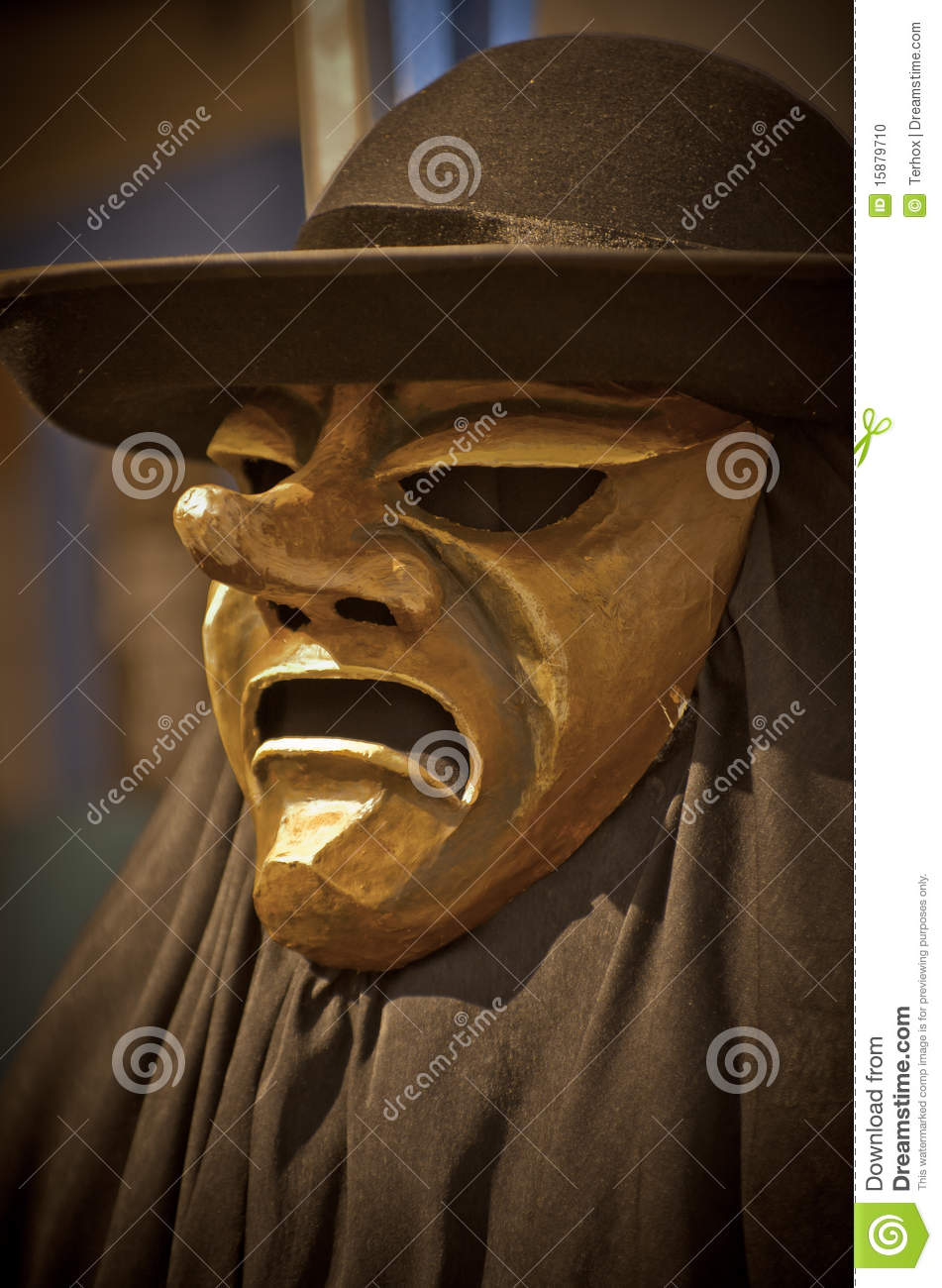 Angry mask with hat stock photo. Image of animosity db46f32f9d82