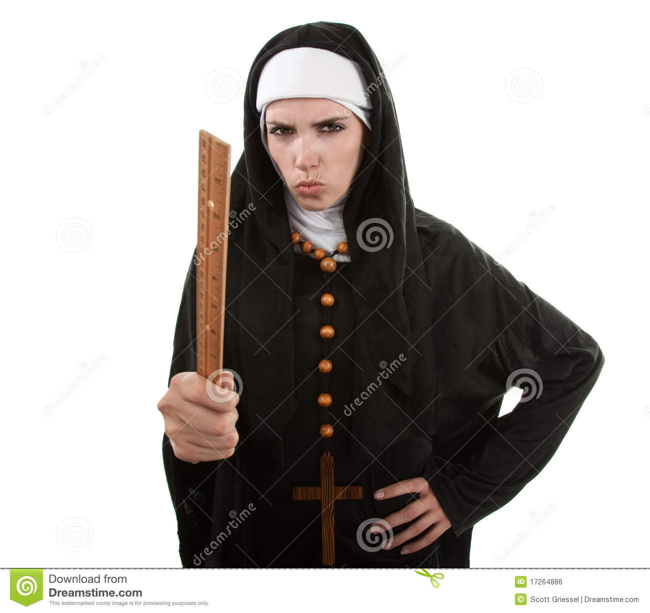 angry nun stock photos - royalty free images