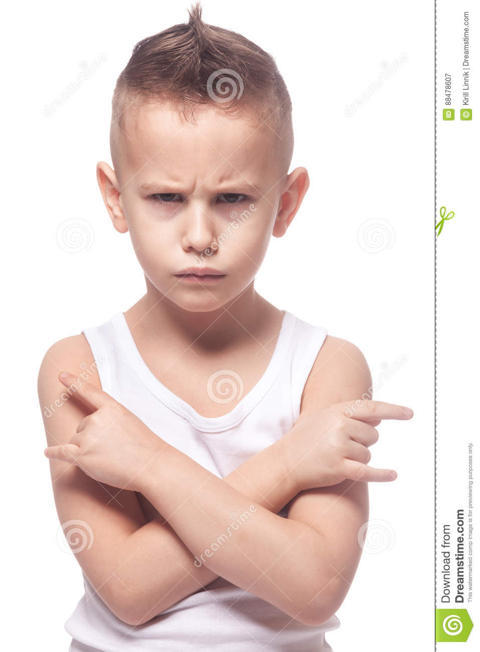 Download Angry punk boy stock image. Image of metal, fighter, angry - 88478607