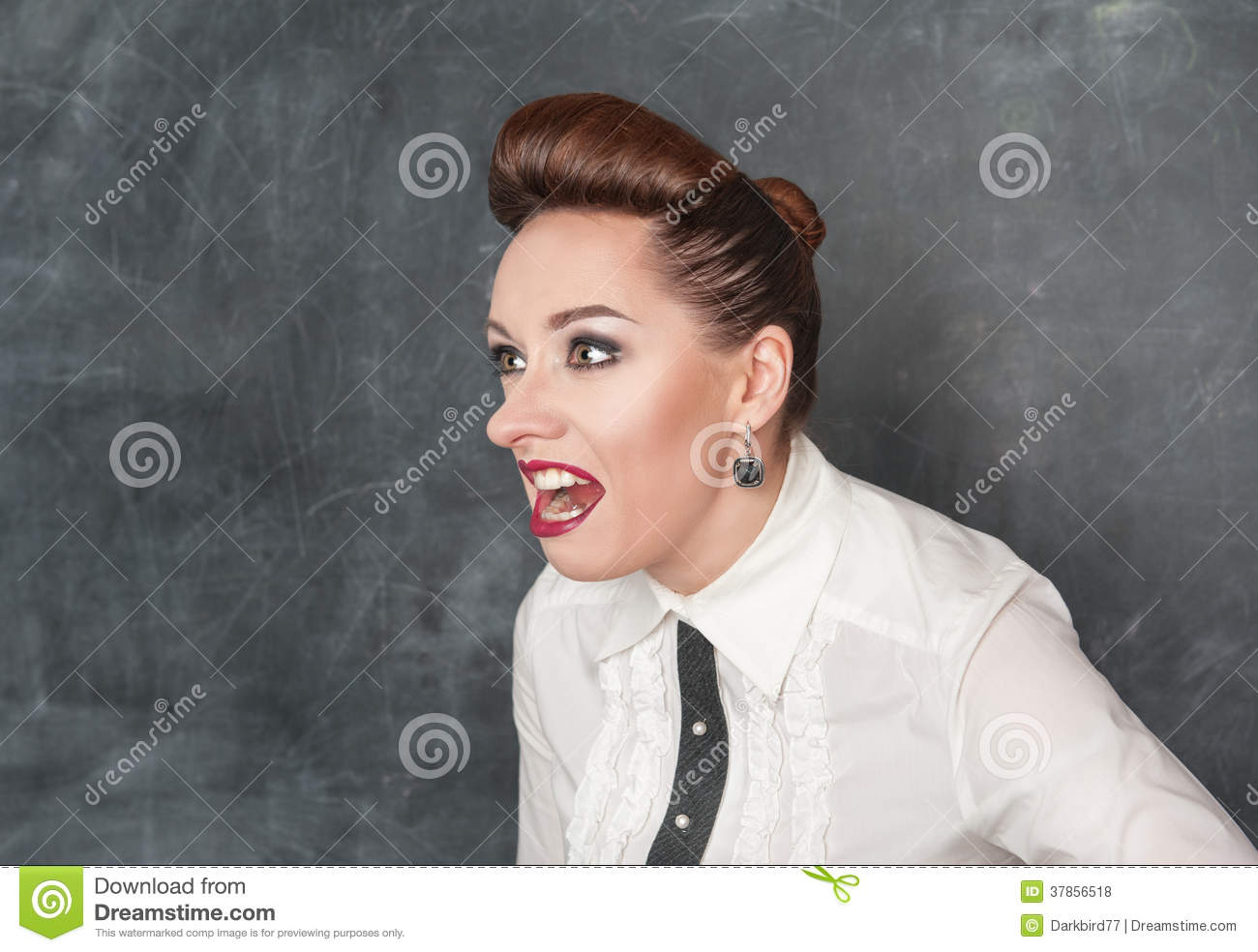 Angry Screaming Woman Royalty Free Stock Photos - Image ...