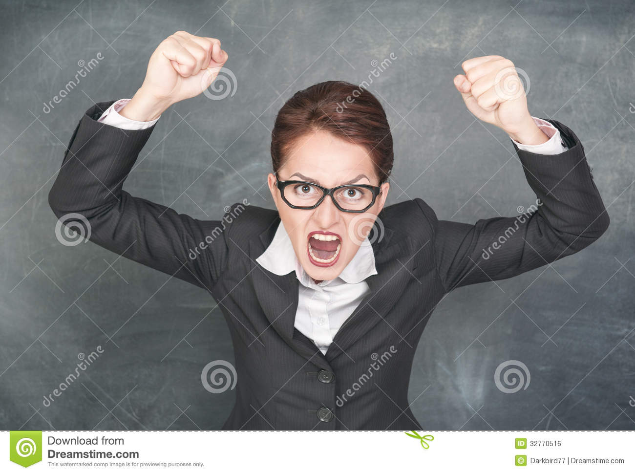 Angry Screaming Woman Royalty Free Stock Image - Image ...