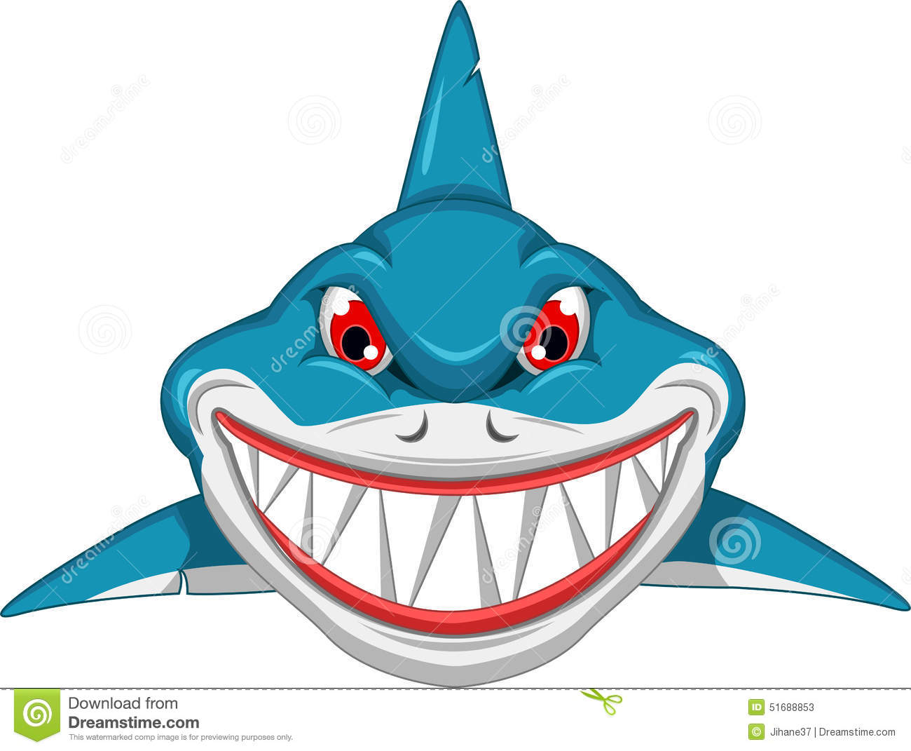 Angry shark clipart - photo#11