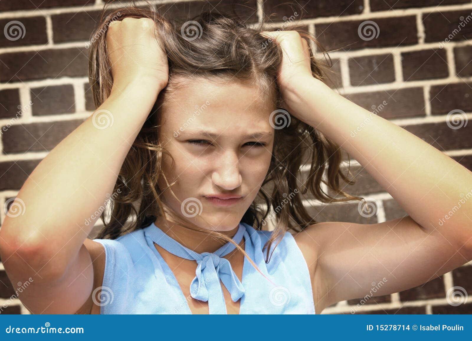 Angry Teenager Stock Photo Image Of Teen, Angry, Teenager -5035