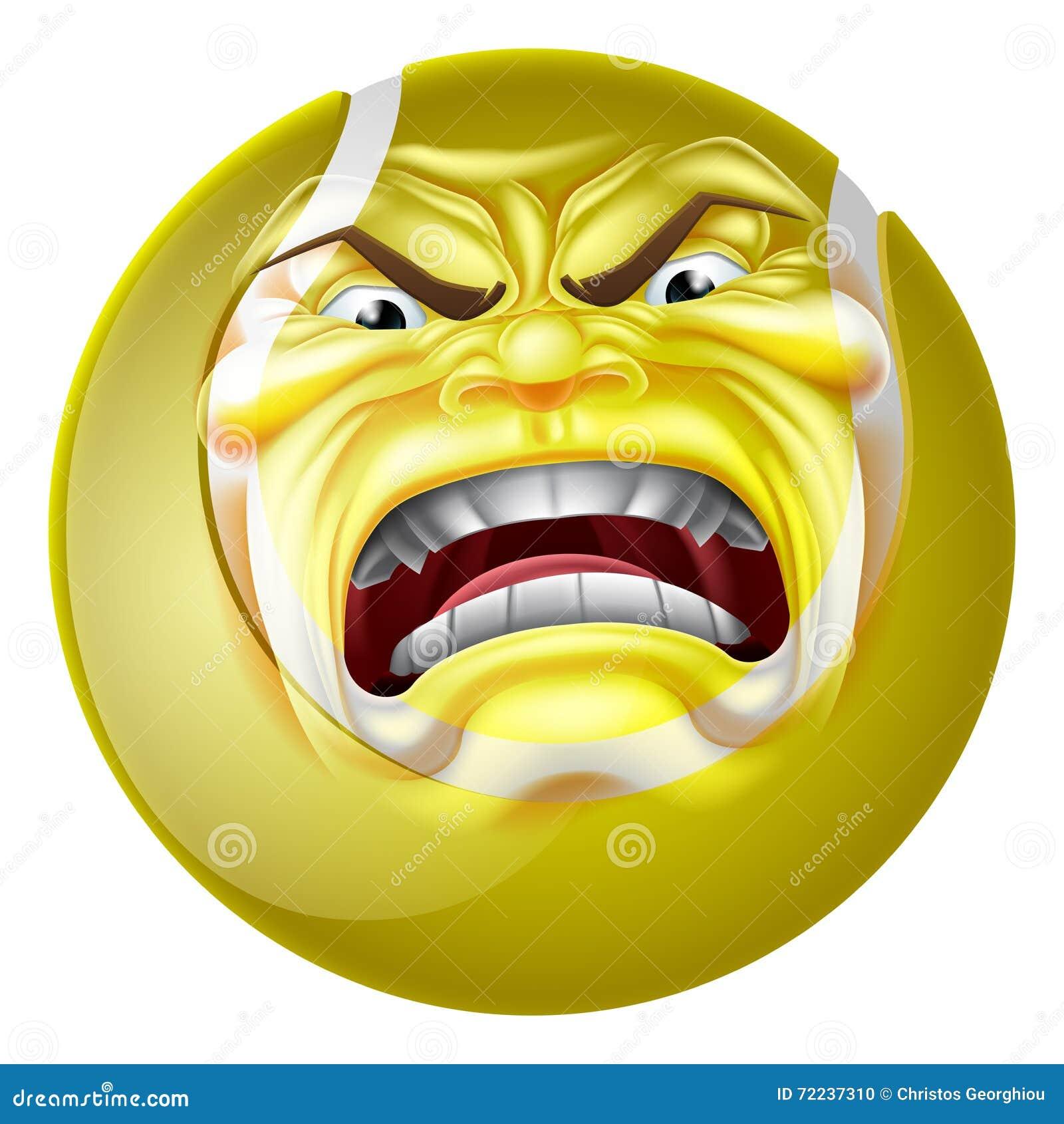 Tennis ball mascot stock photos tennis ball mascot stock photography - Angry Tennis Ball Sports Cartoon Mascot Stock Vector