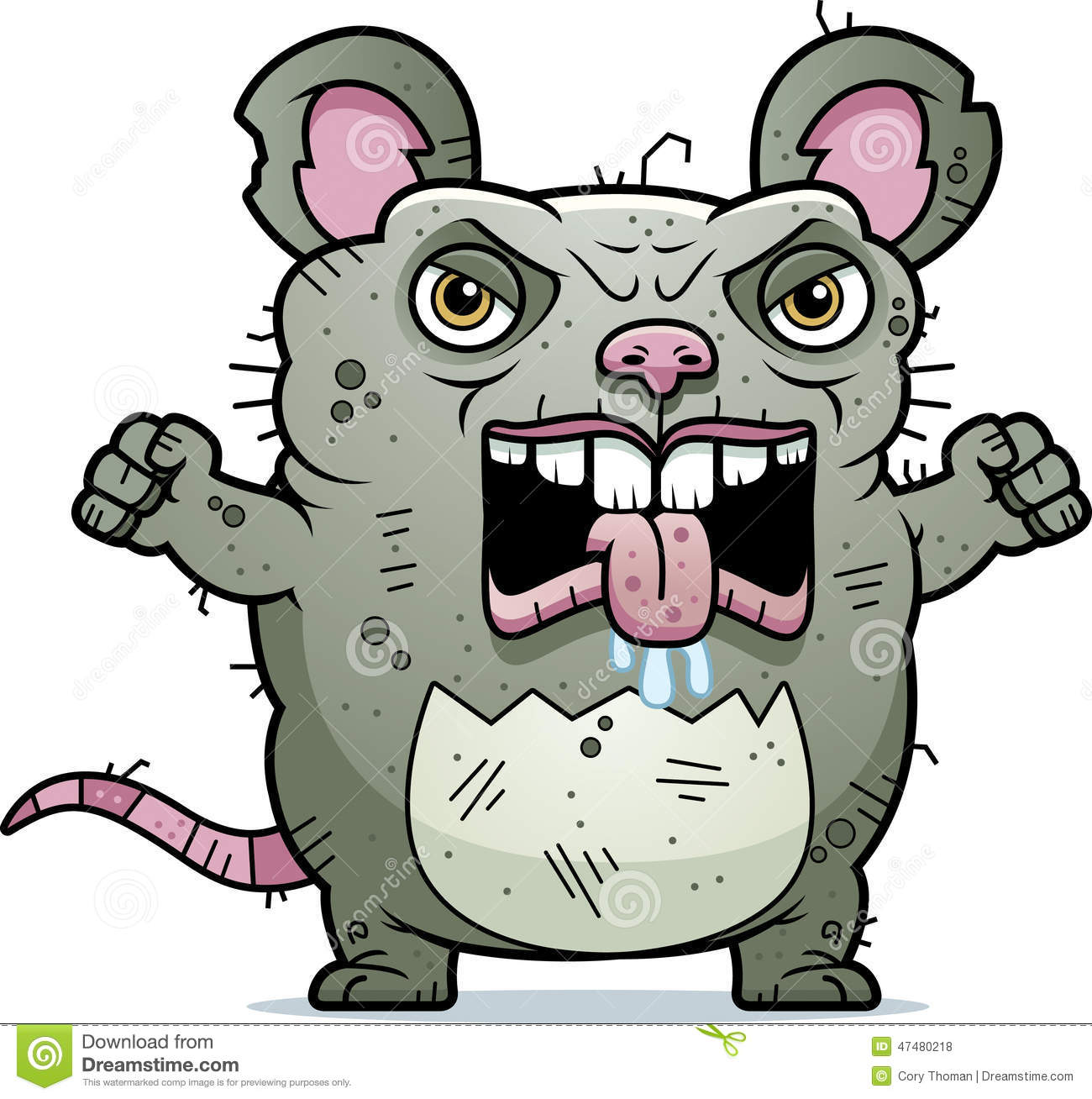 angry ugly rat stock vector image 47480218 mad clip art free maid clip art
