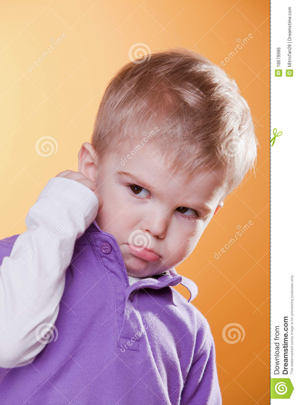 angry upset little boy showing fist royalty free stock