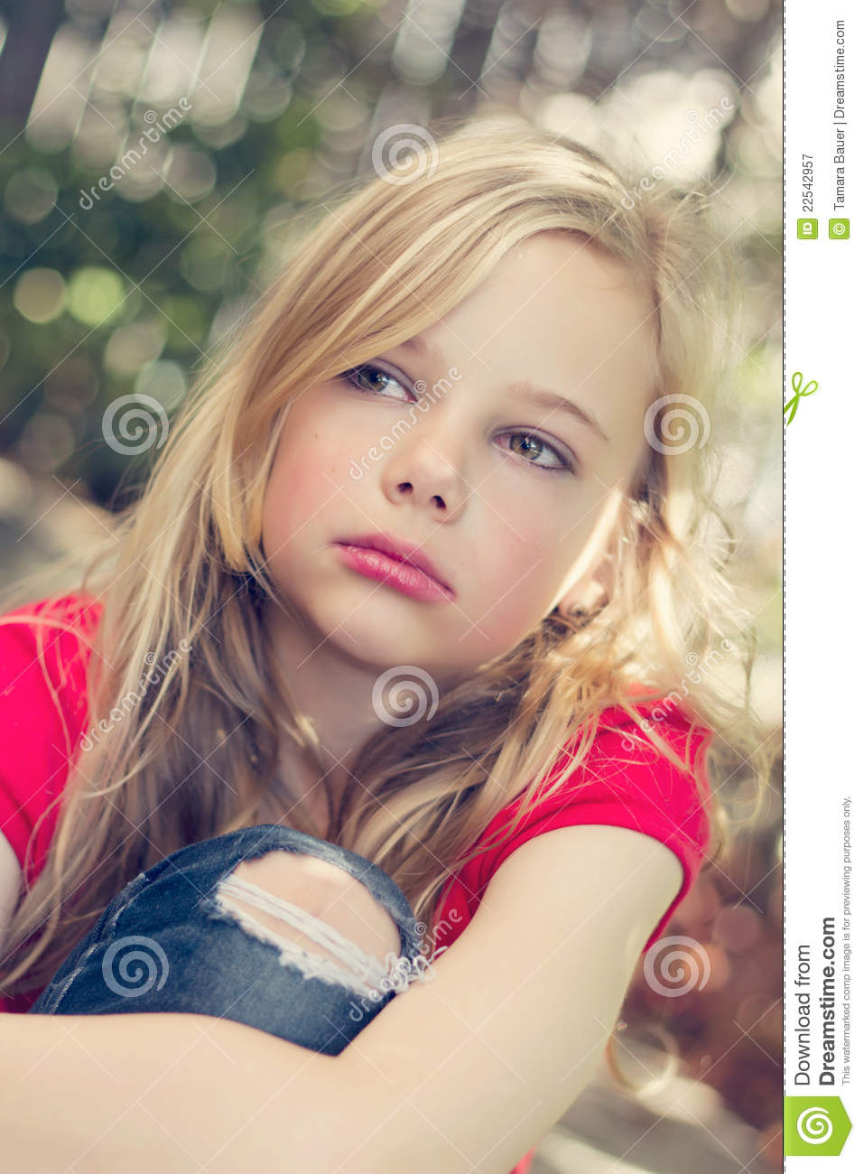 Angry Young Girl Royalty Free Stock Photography - Image -2007
