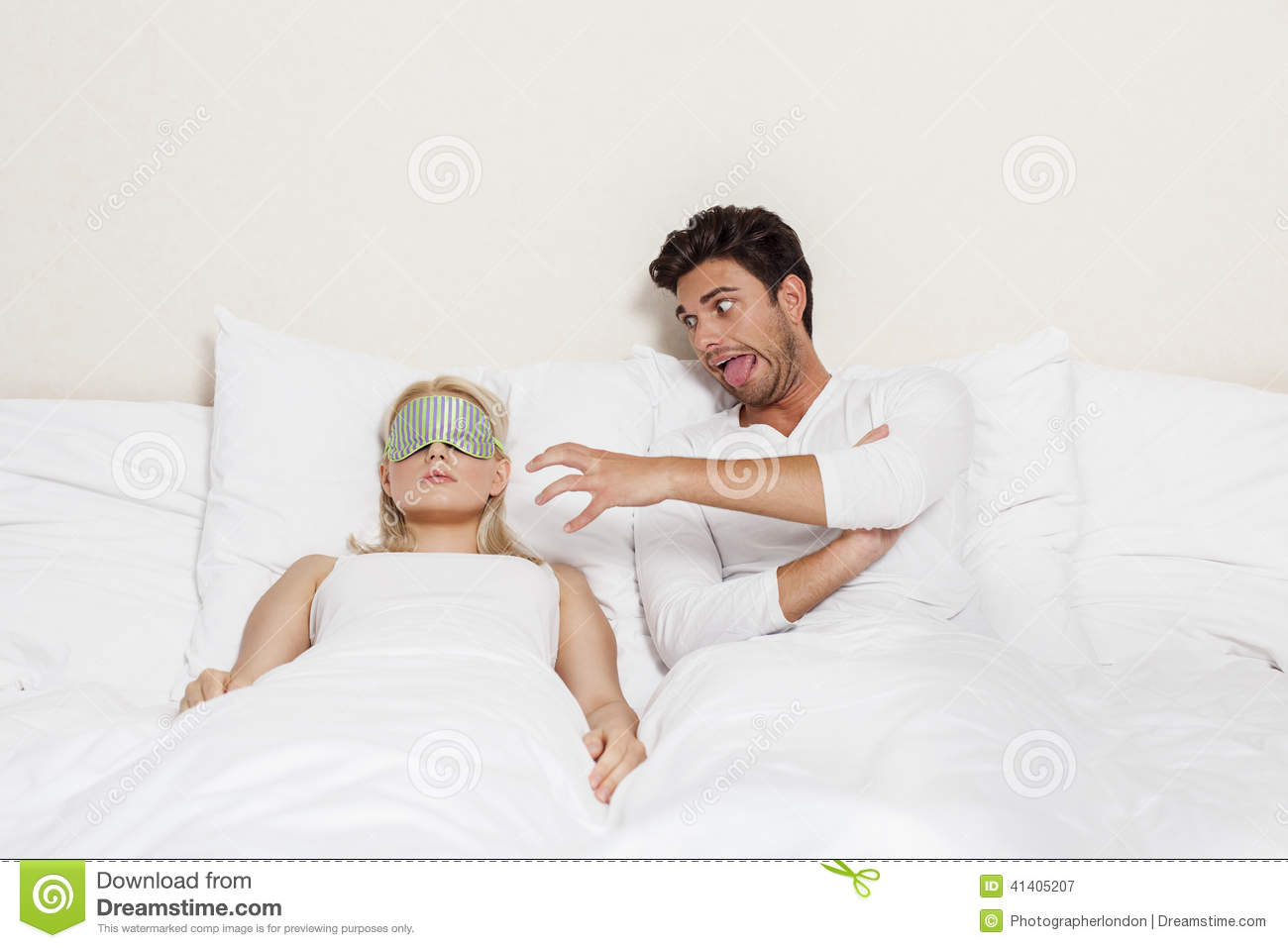 How to tease a guy in bed