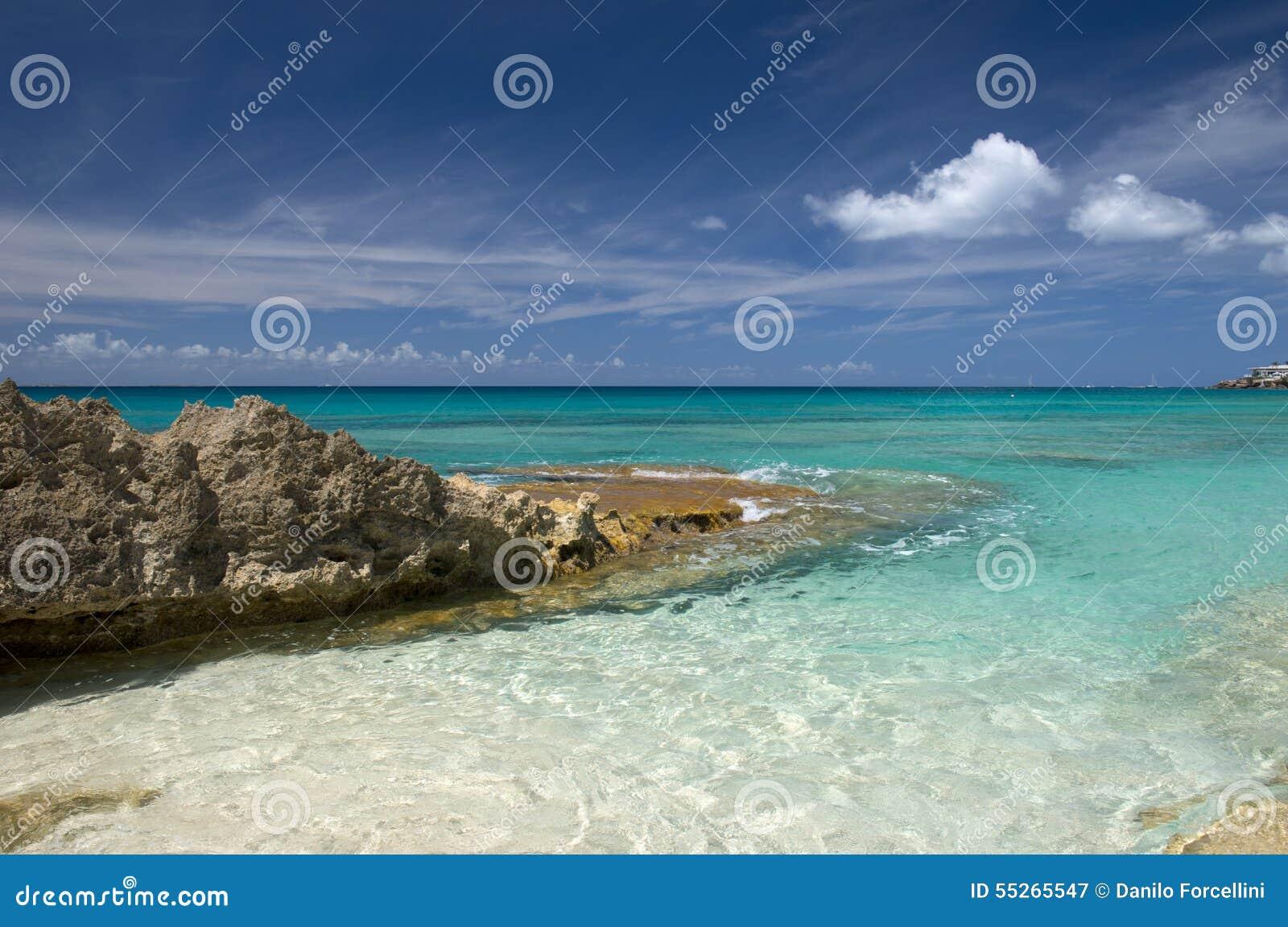 Anguilla-Insel, karibisch
