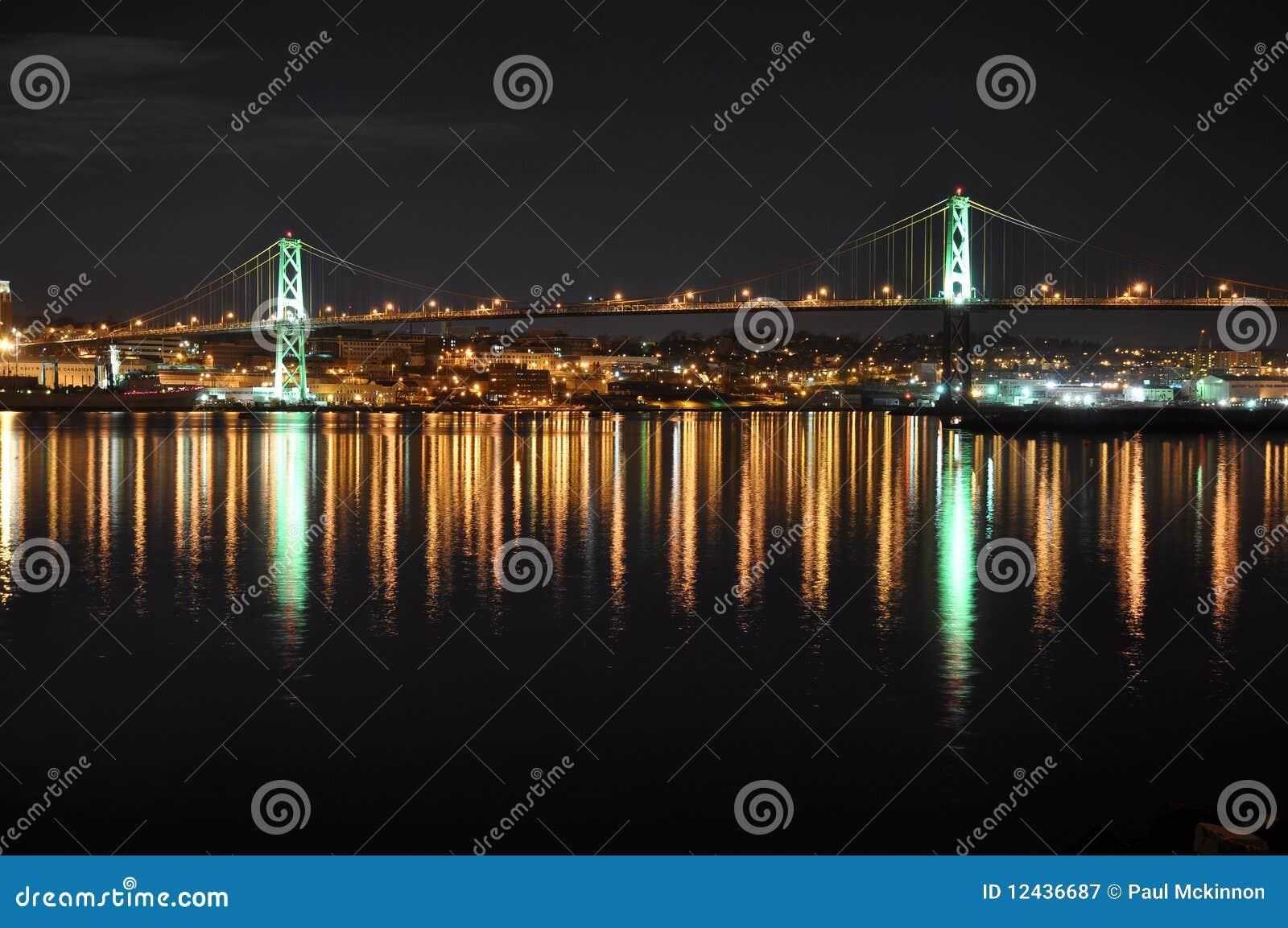 Angus L. Macdonald Bridge Halifax