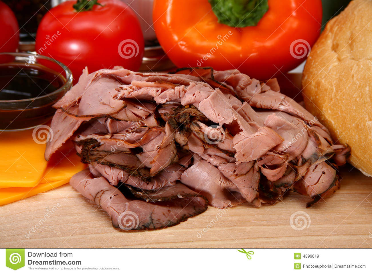 how to cook deli sliced roast beef