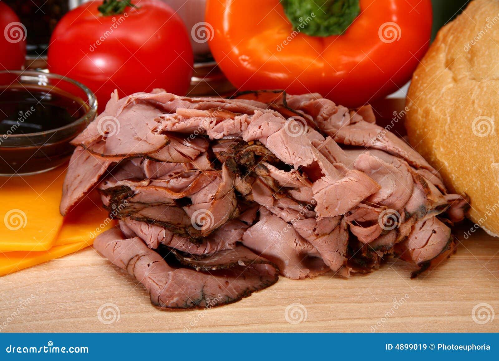 how to cook deli sliced roast beef