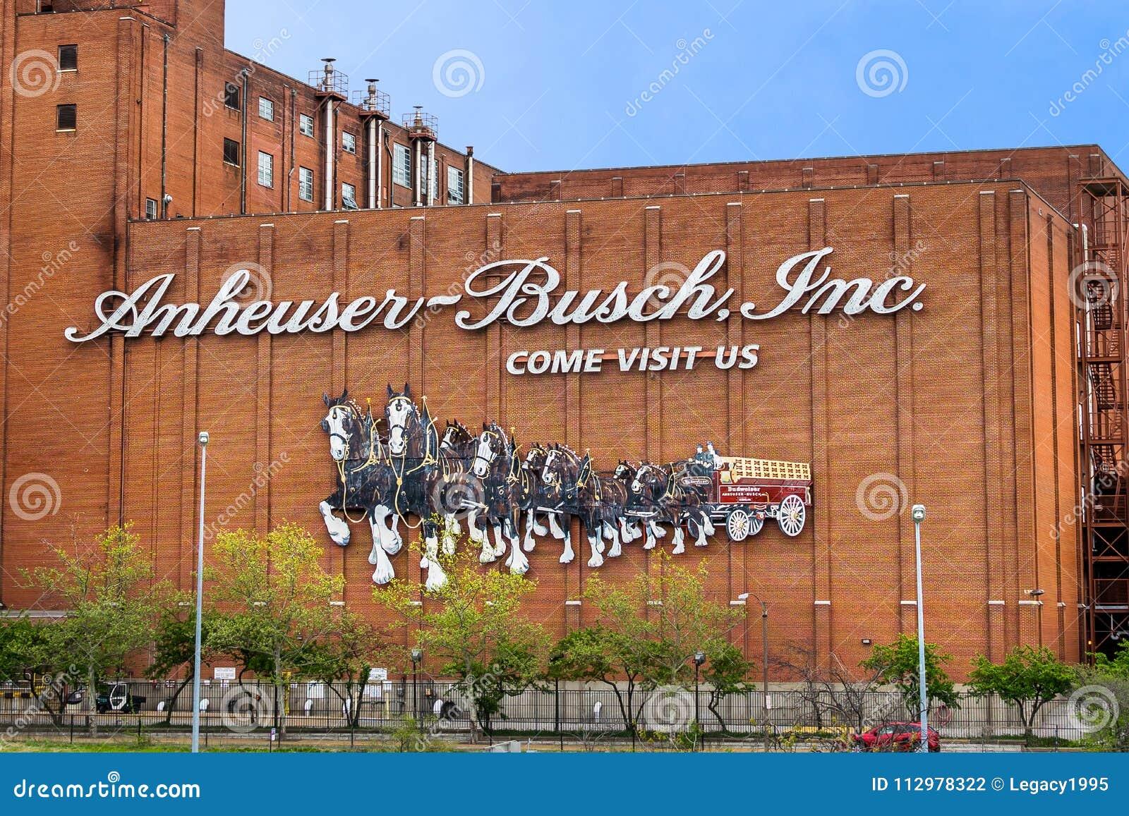Anheuser-Busch Inc Brewery Saint Louis