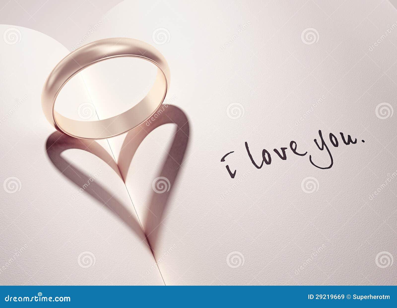 En forma de corazón Anillos de bodas