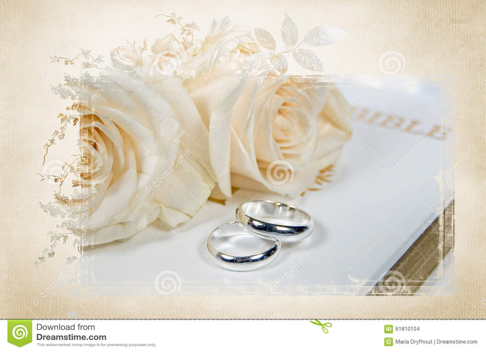 Biblia Y Matrimonio : Anillos de bodas en la biblia foto archivo imagen