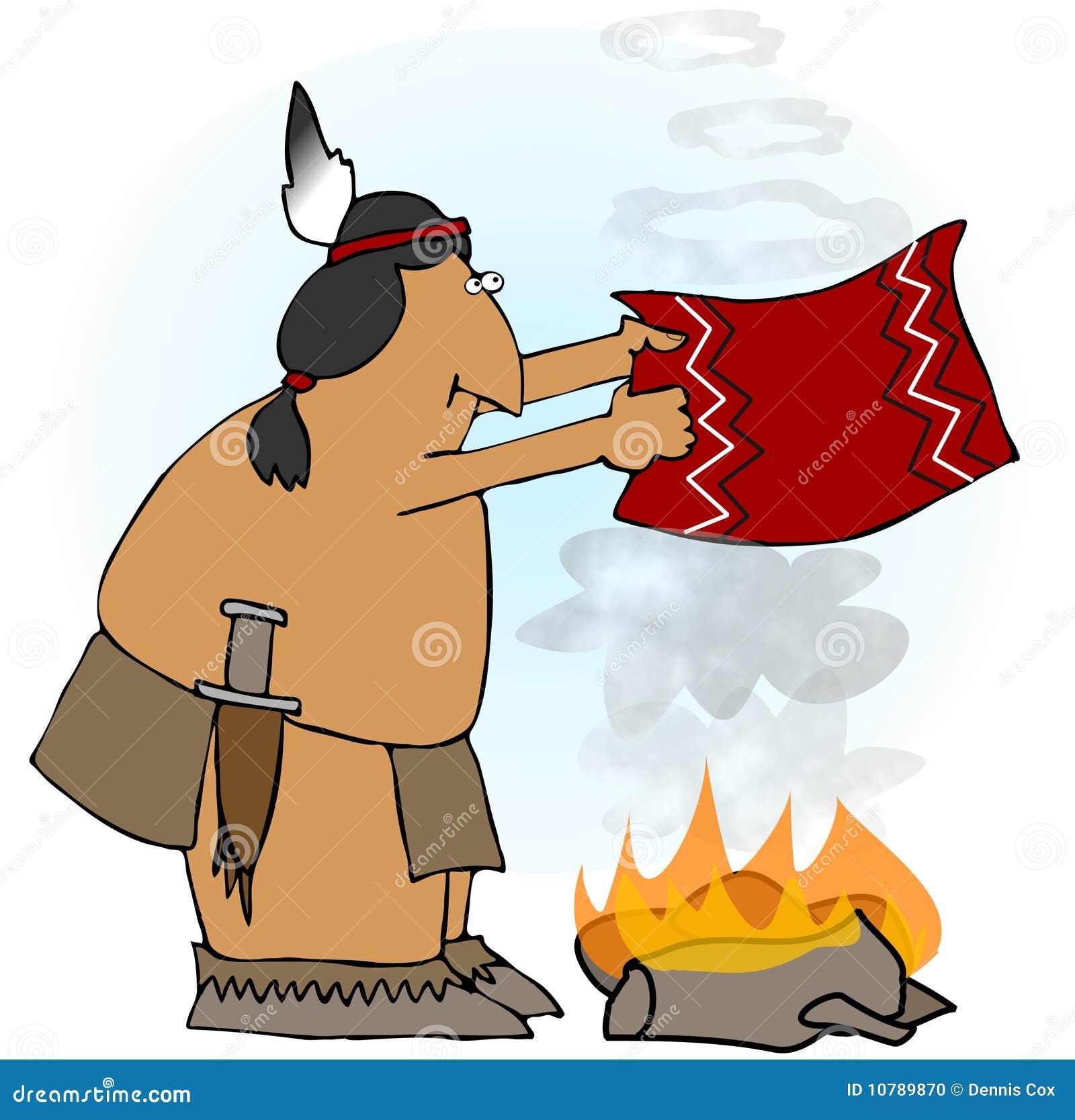 anillos indios del humo stock de ilustraci u00f3n ilustraci u00f3n campfire clip art free campfire clip art banner