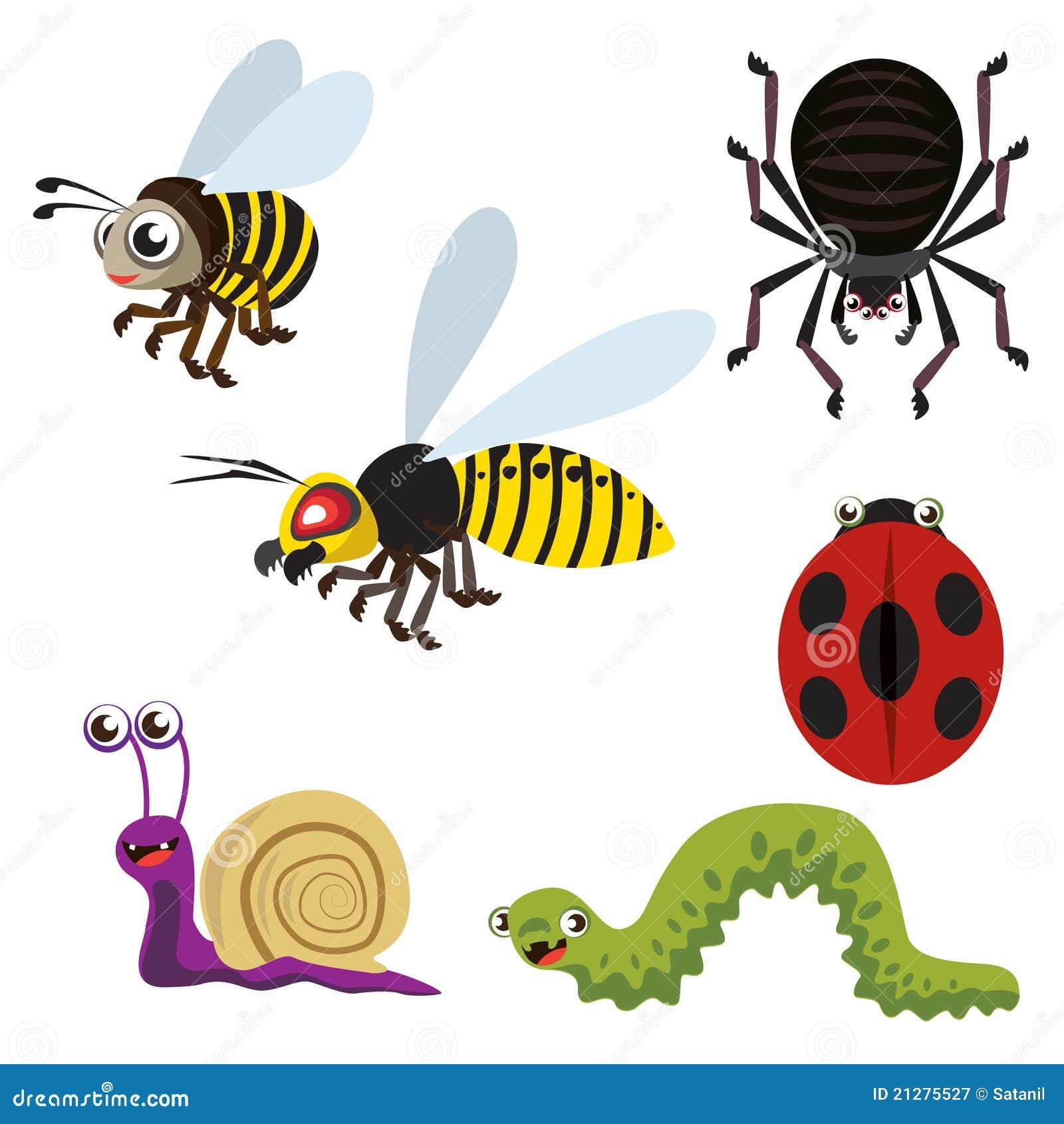 Animais do jardim ilustra o do vetor imagem de escudo - Bichos en casa fotos ...