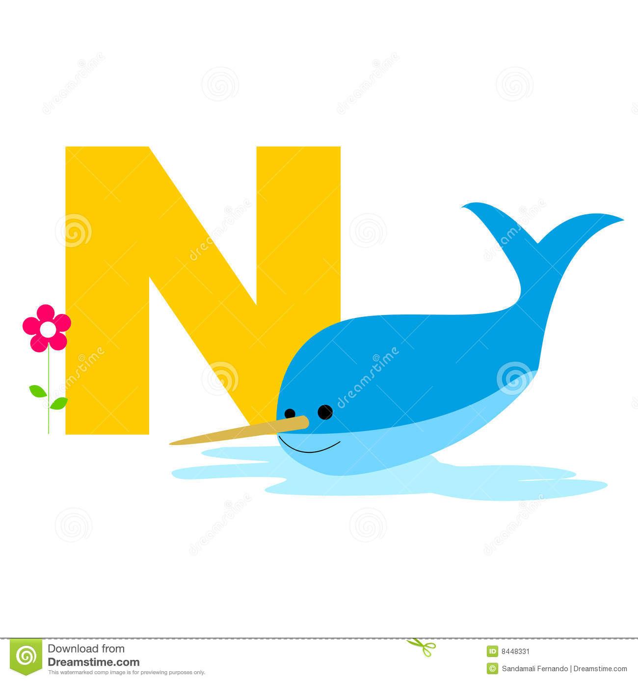 Image of: Newt Animal Alphabet Dreamstimecom Animal Alphabet Stock Vector Illustration Of Child 8448331