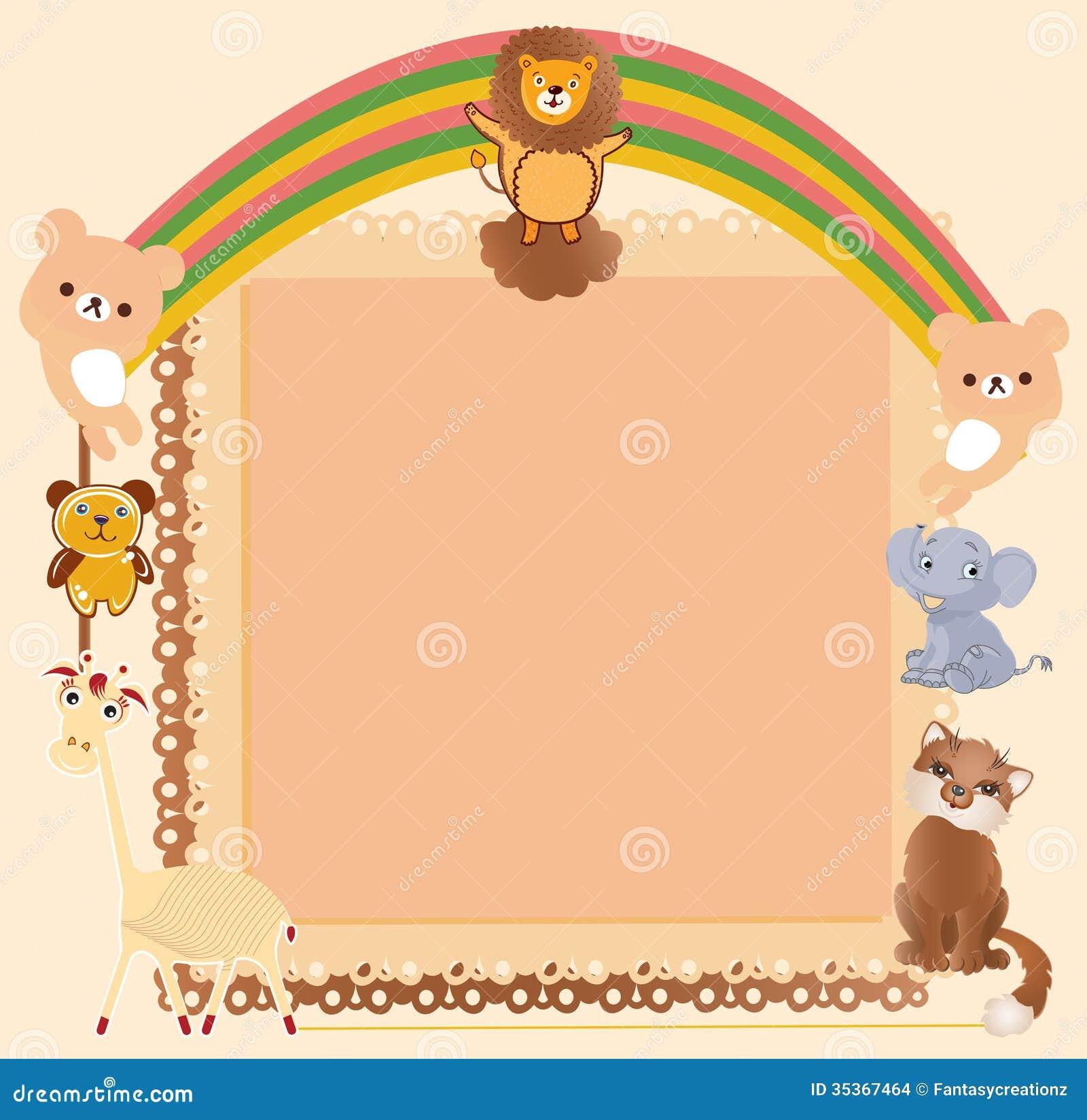Similiar Cute Animal Borders Keywords