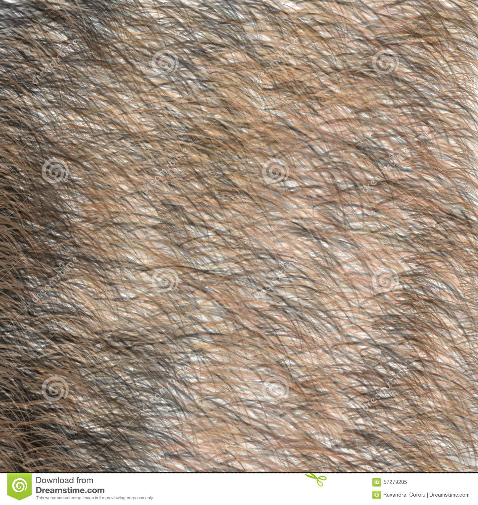 Miraculous Animal Brown And Black Fur Texture Short Hair Stock Illustration Short Hairstyles For Black Women Fulllsitofus