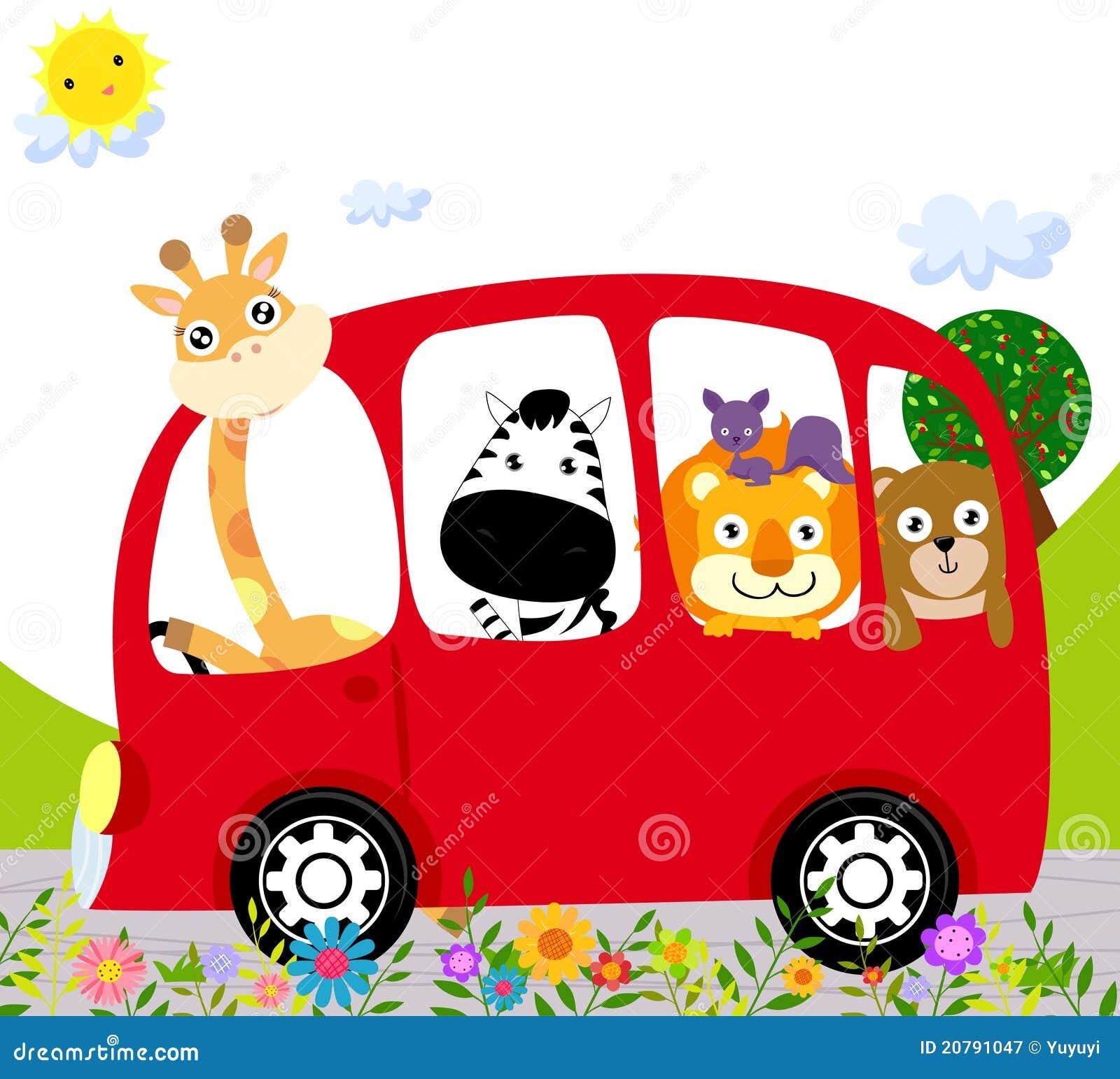 Animal Bus Royalty Free Stock Photography - Image: 20791047