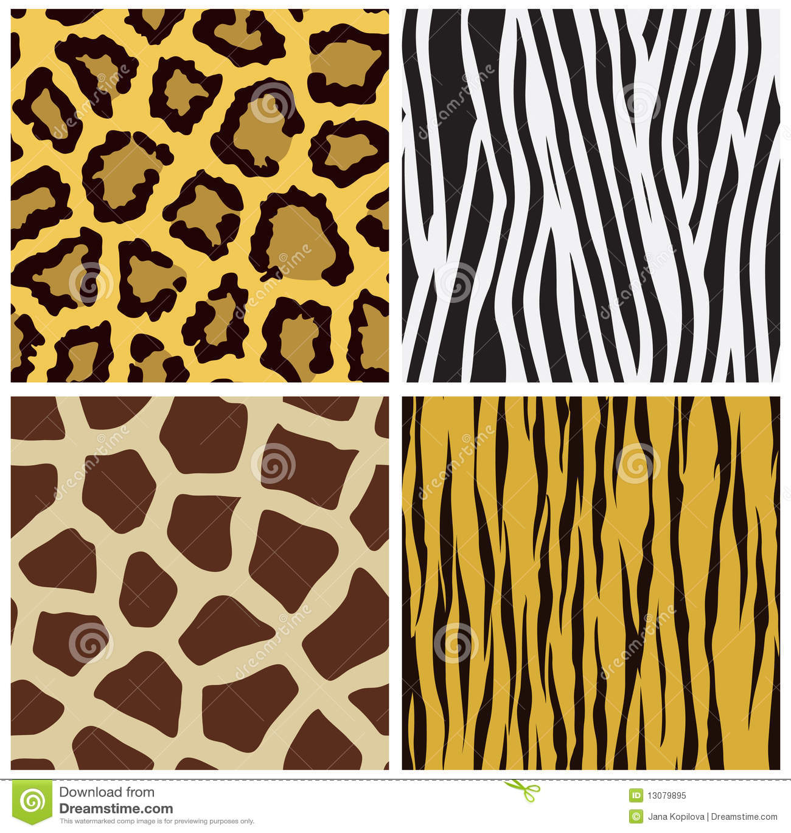 Animal Fur Seamless Pattern Royalty Free Stock Photo ...