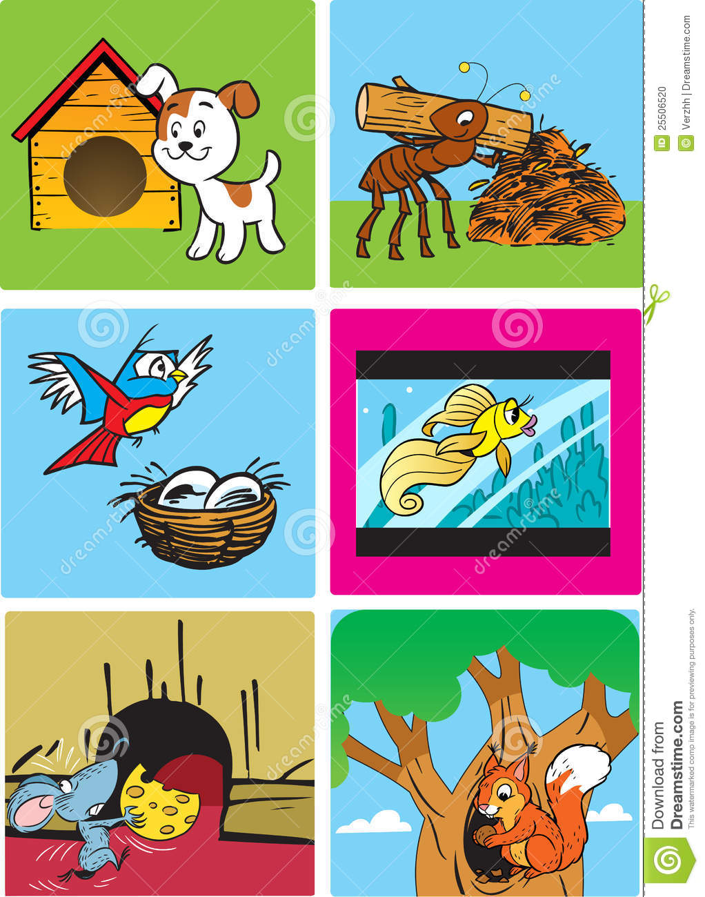 ... Animals And Their Homes Worksheet as well Animals And Their Homes. on