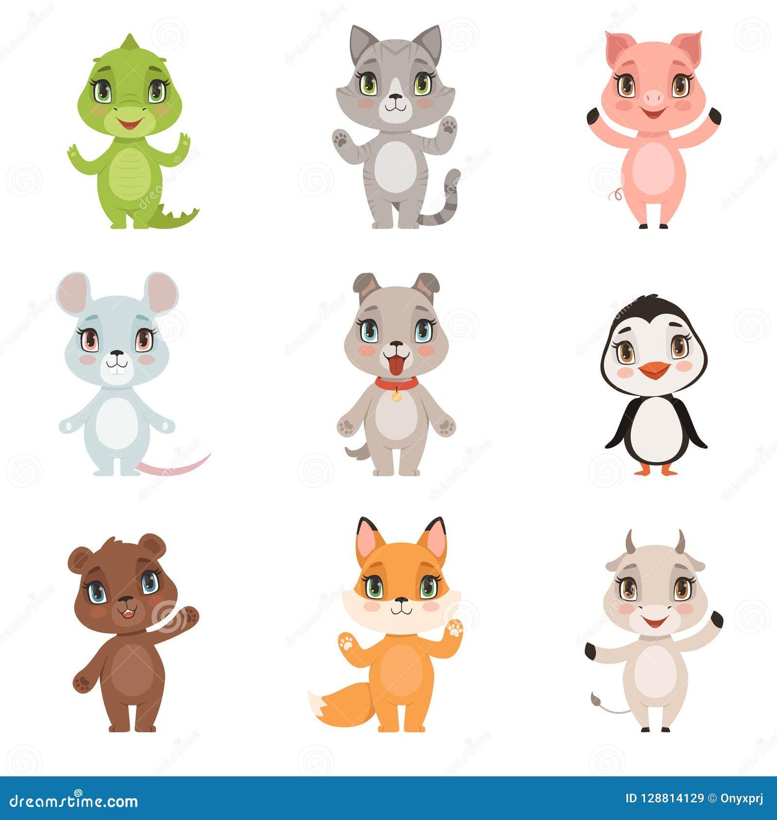 Baby Animal Zoo Set