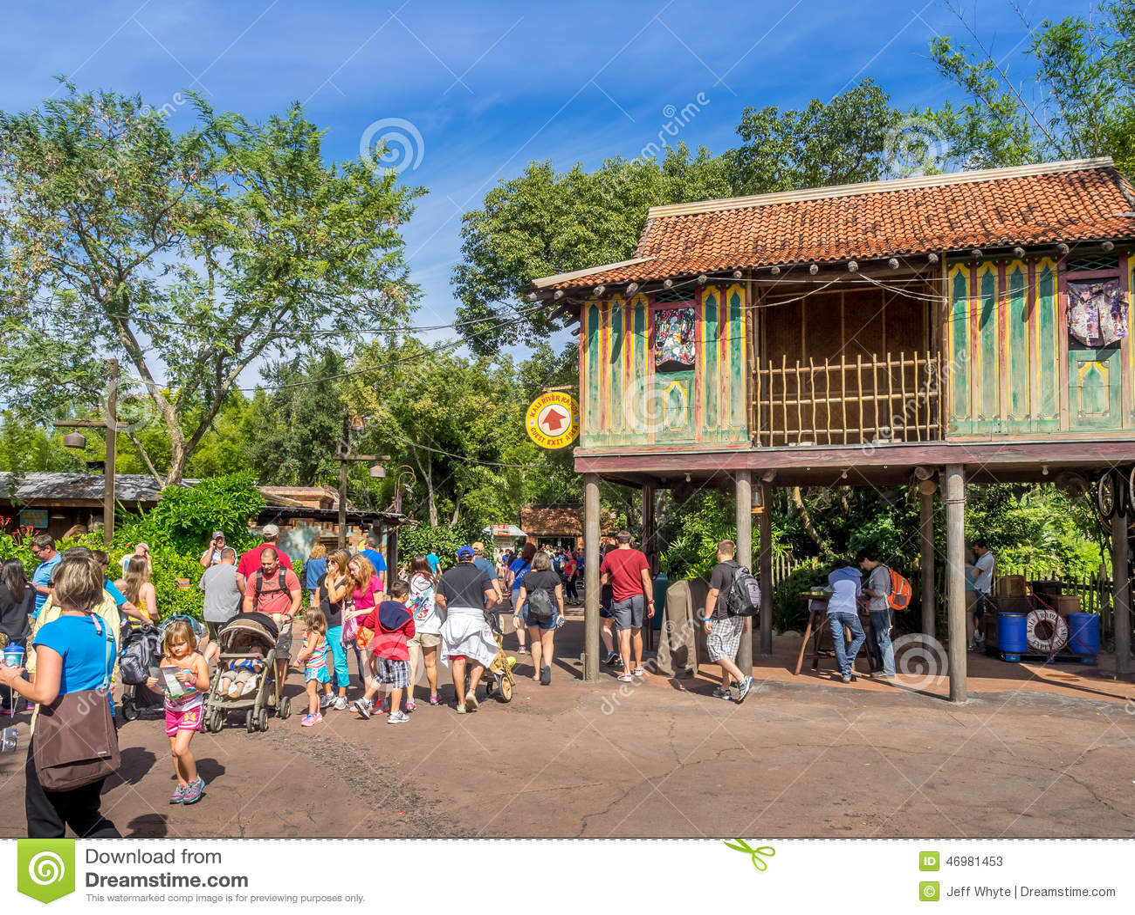 Animal Kingdom Theme Park, Dinsey World