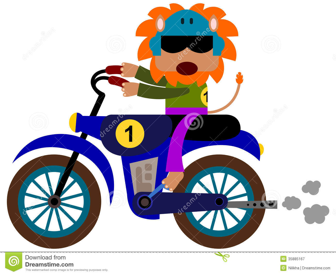 Displaying 20> Images For - Motorcycle Cartoon Clip Art...