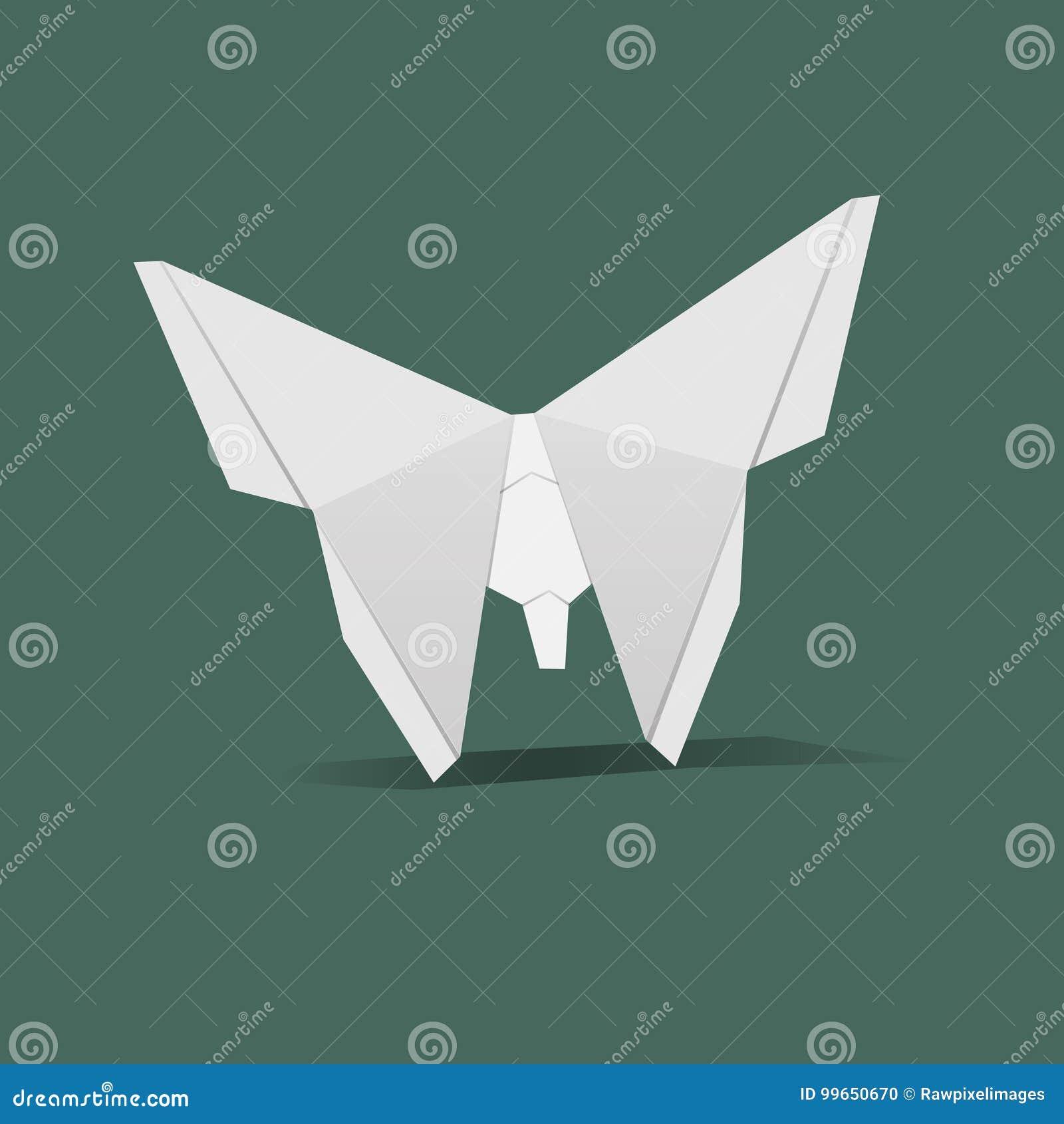 Animal origami vector craft vector