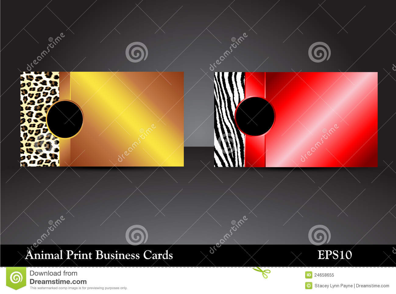 Animal print business cards raster version stock vector download animal print business cards raster version stock vector illustration of elegant reflective reheart Image collections