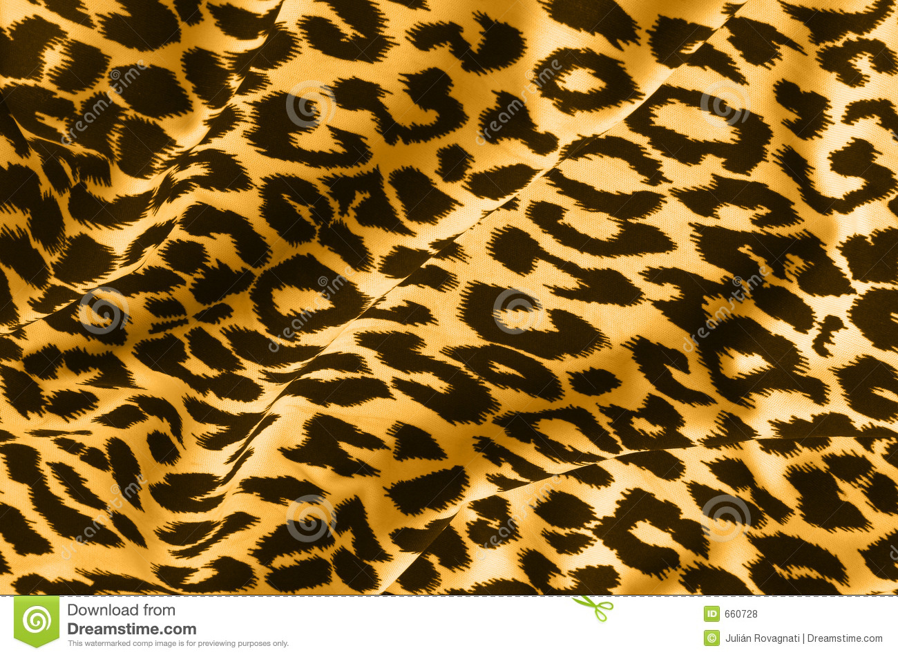 Leopard Print Fabric animal print on fabric royalty free stock photos - image: 660728