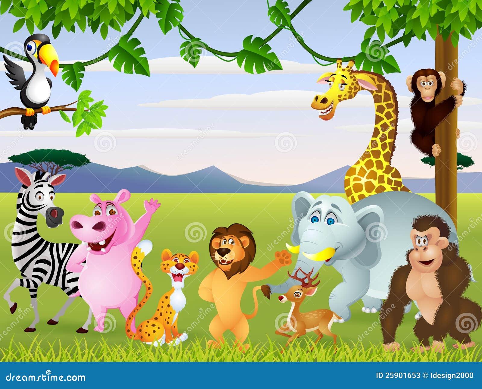 Animal Safari Stock Illustration Illustration Of