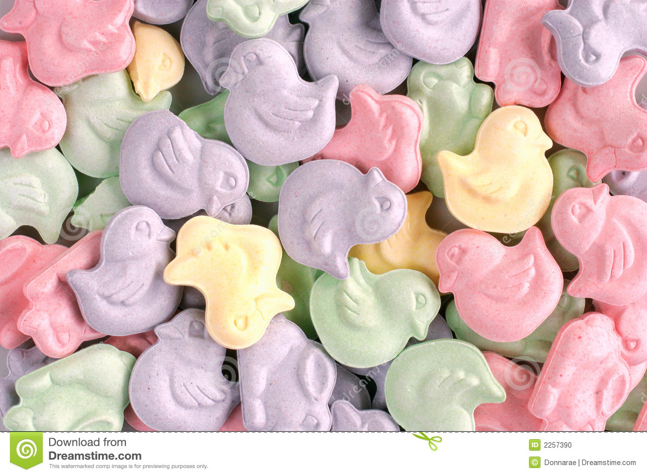 Animal Shaped Easter Candy